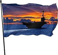 Bandiera da giardino notturna per interni Bandiera