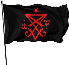 Bandiera da Giardino,Occult Sigil Lucifer Satanic