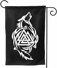 Bandiera da Giardino,Odin Thor Viking Tribal Norse