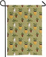 Bandiera da giardino per amanti delle piante, in