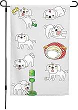 Bandiera da giardino per cuccioli, 30 x 40 cm,