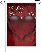 Bandiera da Giardino Red Love Bandiera Decorativa