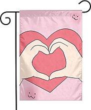 Bandiera da giardino Than Heart Banner da giardino