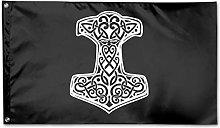 Bandiera da Giardino,Thor 'S Hammer Viking