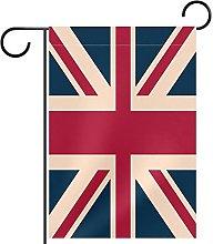 Bandiera da giardino vintage con bandiera