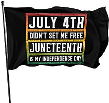 Bandiera decorativa per giardino del 4 luglio