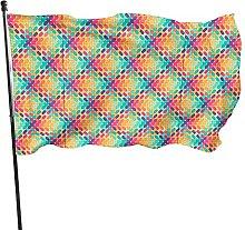 Bandiera decorativa per interni ed esterni, per
