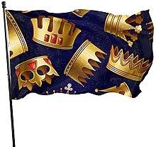 Bandiera del giardino belle corone bandiere di