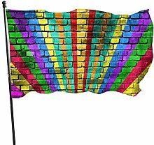 Bandiera del giardino cantiere all'aperto