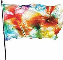 Bandiera del giardino cortile all'aperto