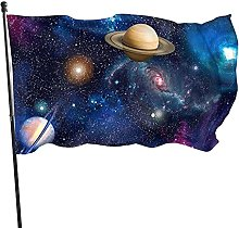 Bandiera del giardino cosmico di Planets Galaxy