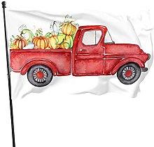 Bandiera del giardino del camion di Natale