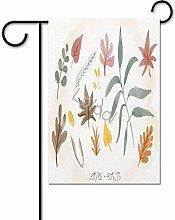 Bandiera del giardino del Ringraziamento di