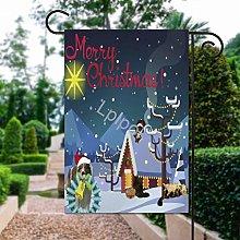 Bandiera del giardino di Natale di SOUL-RAY,