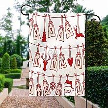 Bandiera del giardino di SOUL-RAY MerryChristmas,