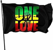 Bandiera del giardino, One Love with Rasta