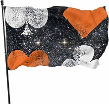 Bandiera del giardino Patry Bandiera Esterna Poker