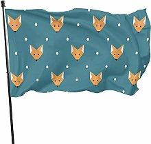 Bandiera del giardino Patry Bandiera Esterna Volpi