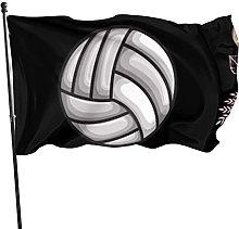 Bandiera del giardino Una ragazza ama la pallavolo