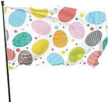 Bandiera del giardino uovo di Pasqua Draw bandiere