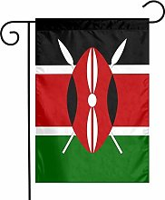 Bandiera del Kenya giardino bandiere casa interni