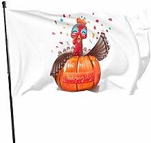 Bandiera del Ringraziamento Turchia Autunno