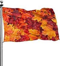 Bandiera delle foglie d'autunno 4x6 Ft Banner