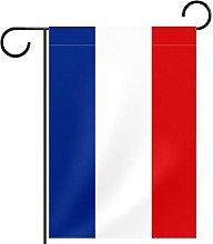 Bandiera francese blu bianco rosso striscia