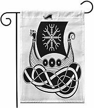 Bandiera Giardino 12,5 'x 18' Drakkar