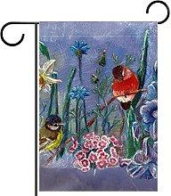 Bandiera Giardino Floreale Bifacciale Primavera