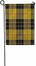 Bandiera Giardino Giallo Astratto Clan macleod