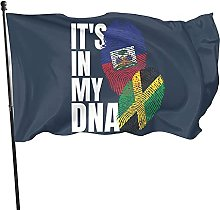 Bandiera haitiana It's in My Dna 2 Bandiera in