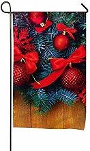 Bandiera, Ornamenti natalizi Design rosso,