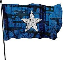 Bandiera somala, Bandiera da giardino grunge