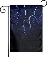 Bandiere da giardino blu per interni ed esterni,