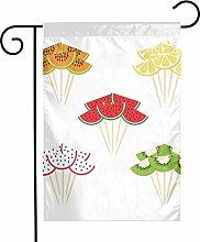 Bandiere da giardino con anguria Kiwi per interni