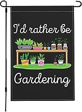 Bandiere da giardino con scritta in inglese