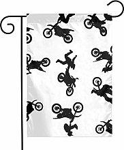 Bandiere da giardino per motocross, per interni ed