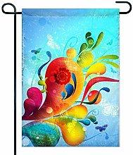 Bandiere Decorative astratte e Colorate per