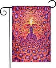 Bandiere psichedeliche da giardino per interni ed