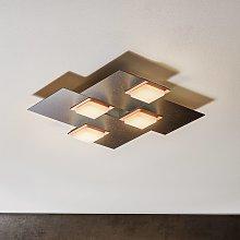 BANKAMP Quadro plafoniera LED 32W antracite