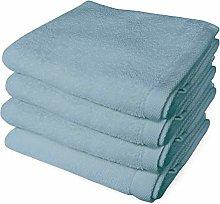 Banzaii 4 Asciugamani 60 x 100 cm Azzurro