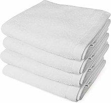 Banzaii 4 Asciugamani 60 x 100 cm Bianco
