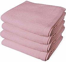Banzaii 4 Asciugamani 60 x 100 cm Rosa
