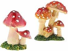 Baoblaze Confezione da 2 Decorazioni in Miniatura