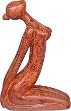 Baoblaze Figurine di meditazione della statua di