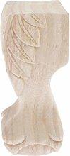 Baoblaze Piedini per Mobili in Legno Alti 6