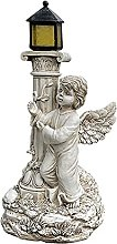 Baoblaze Resina Colonna Romana Angelo Figurine