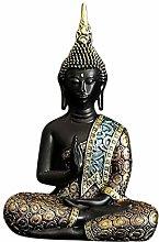Baoblaze Statua di Buddha in Resina Ornamento