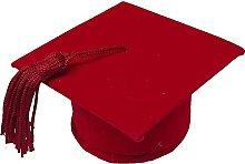 BARATTI Cappello Laurea Rosso, 24 Pezzi,